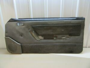 87-89 Ford Mustang SMOKE Gray PASS. Door Panel  OEM Hatchback Coupe GT  #1846