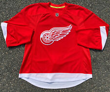 Detroit Red Wings Blank Reebok Nhl Official Player Edition Hockey Jersey Size 56