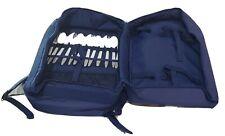 New Rare Tupperware Picnic Backpack Navy Blue Back Pack