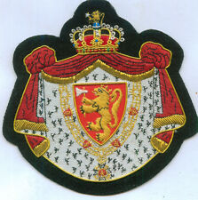 Medieval Norway Nordic Norse Royal Crest Seal House King Lion Knight Patch Order