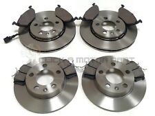 SKODA RAPID 2013-2017 FRONT & REAR BRAKE DISCS AND PADS (CHECK DISC SIZE 256MM)