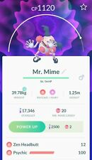 Mr Mime Pokemon Go Trade (Region Exclusive)