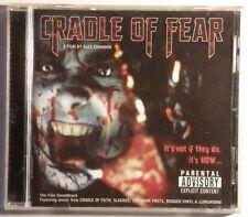 Cradle Of Fear SoundtrCD New Cradle Of Filth Dark Poets