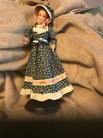 Vintage 1966 Barbie Doll Mattel Indonesia Pioneer Hat Dress with stand
