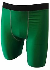 Mens Boys Kids Compression Shorts Base Layer Thermal Sport Skins Armour