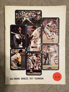 1971 Baltimore Orioles Yearbook In Excellent Condition