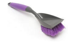 Messy Cats Litter Box Cleaning Brush..Purple
