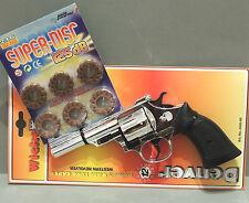 Pistole Waffe Fasching Karneval Denver Revolver Colt  Kinderpistole + Munition