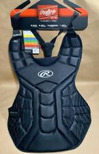 "Rawlings Black Players Series Adult 16"" Chest Protector New With Tags"