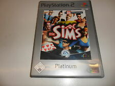 PlayStation 2 PS 2 los Sims (Platinum)