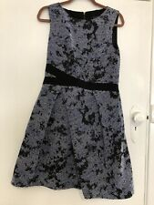CUE IN THE CITY patterned dress 12-like new