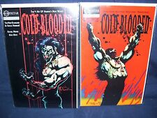 Cold Blooded #1 and #3 Northstar Comics  with Bag and Board Mature Comic