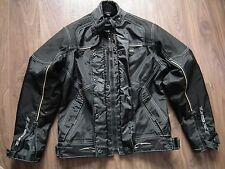Ixon Lea Femmes Moto Moto Textile Taille 7 Veste noire à peine porté