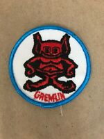 Vtg AMC Gremlin Embroidered Sew On Patch Auto Racing Badge American Motors 70's