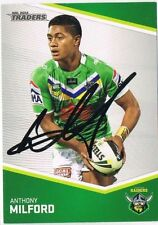 Autograph Canberra Raiders Modern (1970-Now) NRL & Rugby League Trading Cards