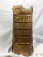 1886 Family Leather Bound Bible