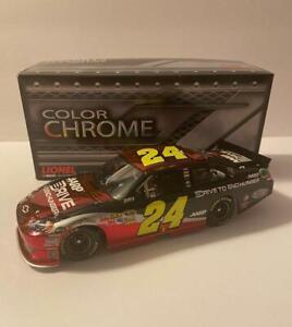 NASCAR 2012 JEFF GORDON #24 DRIVE TO END HUNGER DTEH COLOR CHROME 1/24 CAR