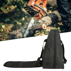 Chainsaw Waterproof Carrying Bag Black Holdall Case Oxford Protective Holdin Box