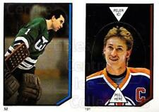 1986-87 O-Pee-Chee Stickers #052-191 Mike Luit, Wayne Gretzky