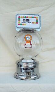 Counter top Glass Globe 1c Ford Candy or Peanut M & M Machine Bulk Vendor