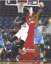 Latoya Sanders Signed 8 x 10 Photo Wnba Basketball Washington Mystics Free Ship