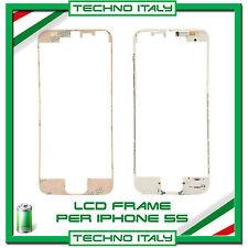 CORNICE FRAME LCD PER IPHONE 5S (BIANCO) FLAT