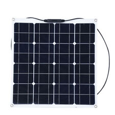 50W 12V Portatile Pannello Solare Fotovoltaico per Casa/ Barca / Yacht / Camper