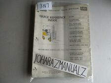 clark forklift c30b quick reference guide manual