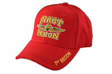 Rapid Dominance Embroidered Military Baseball Caps Adjustable-1st Recon Wing