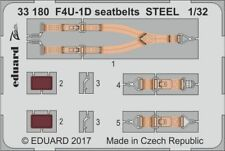 Eduard Zoom 33180 1/32 Vought F4U-1D Corsair seatbelts STEEL Tamiya