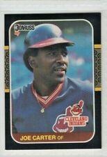 1987 Donruss #156 Joe Carter Cleveland Indians Baseball Card
