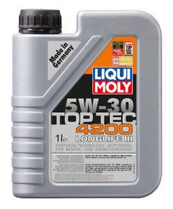 Liqui Moly Top Tec 4200 5W30 Engine Oil 1L for VW Skoda Audi Porsche Mercedes