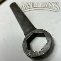 "WILLIAMS TOOLS LARGE INDUSTRIAL WRENCH 1"" BOX END WRENCH Made in USA"
