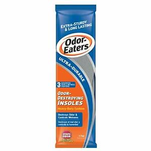 Odor-Eaters Ultra-Durable Heavy Duty Cushion Insoles 1 1 Count Pack of 1