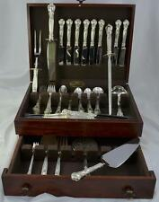 88pc Gorham Chantilly Sterling Silver Flatware Set **Many Serving Pieces**