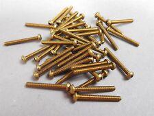 "750pcs Brass Screws 2-56 x 3/4"" Pan Head Phillips NEW"