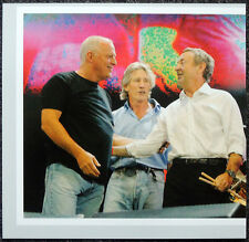 PINK FLOYD POSTER PAGE LIVE 8 HYDE PARK LONDON CONCERT WITH ROGER WATERS. H51