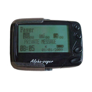 Programmable Alphanumeric Pager Alpha Beeper POCSAG Pager Receiver GP2009N