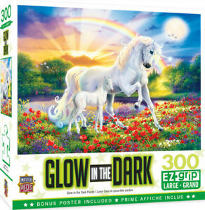 Masterpieces 300 Piece Jigsaw Puzzle - Glow In The Dark: Bedtime Stories