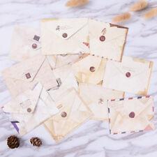 12pcs Mini Envelopes Colored Gift Card Small Metallic Designs Paper Envelope FG