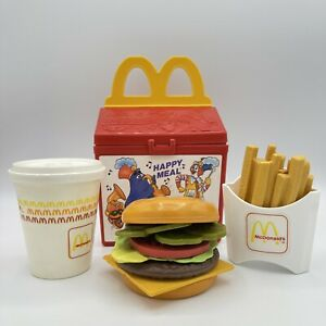 Fisher Price Fun With Food McDonald's 1989 Happy Meal Box