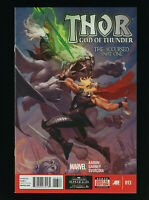 Thor God of Thunder 13 comic by Marvel in Near Mint