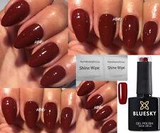 BLUESKY 63924 RUST RED BROWN AUTUMN WINTER NAIL GEL POLISH LED UV SOAK OFF+WIPES