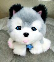 Little Live Pets Frosty My Dream Puppy Husky Interactive Plush Toy Dog Moose