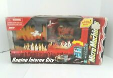 Micro Machines Raging Inferno City Playset, NIB-Packaging Shows Aging