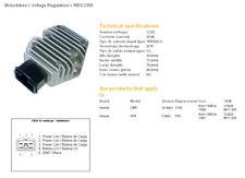 DZE Regulator/ Laderegler Honda NV Shadow 400 / VFR F A/AC 750