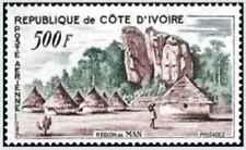 Timbre Cote d'Ivoire PA24 ** (37472) - cote : 14 €