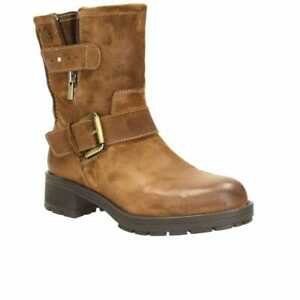 Clarks Reunite Go GTX Brown Suede Women's Warm Boots Size UK 4 1/2D