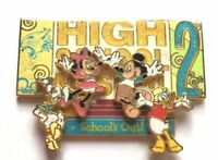 Disney Pin Badge Mickey's Pin Odyssey Mickey and the Gang as High School Musical