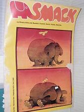 SMACK La rivista attiva dei bambini Fumetti Giochi Favole Anno 1 Numero 1 1979